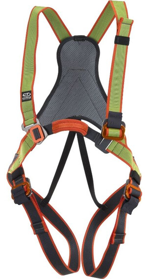 Climbing Technology Jungle Harness Kids green/grey